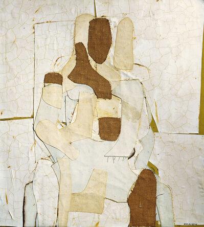 Conrad Marca-Relli, 'Seated Figure', 1955