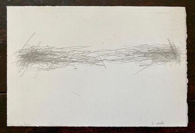William Anastasi, 'Subway Drawing (4.9.10)', 2010