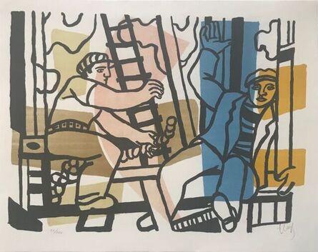 Fernand Léger, 'The Builders ', 1955