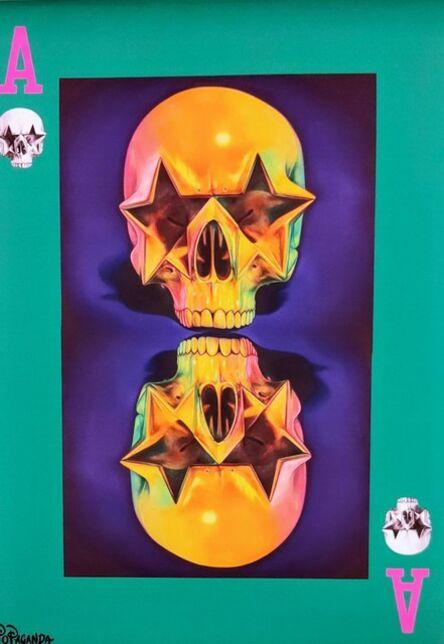 Ron English, 'Star Skull', 2019