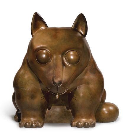 Fernando Botero, 'Dog', 1981