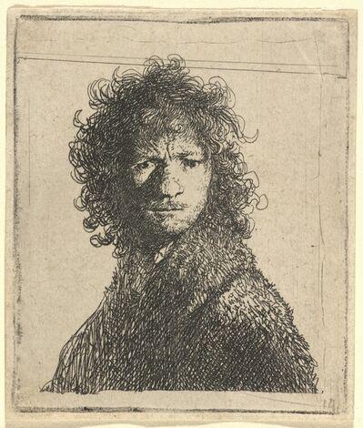 Rembrandt van Rijn, 'Self-Portrait, Frowning', 1630