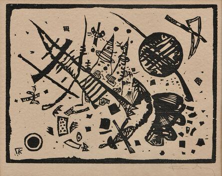 Wassily Kandinsky, 'Holzschnitt für die Ganymed', 1924