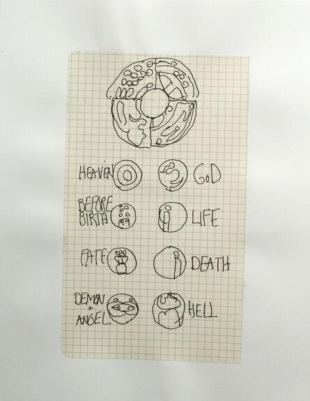 Matt Mullican, 'Notating Cosmology (1 to 123) (Detail)', 2008