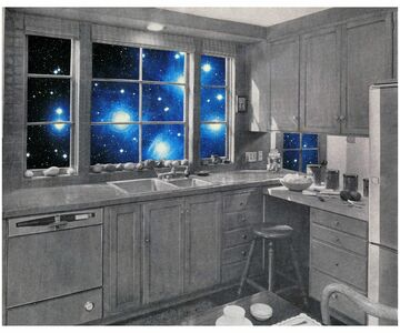 Martha Rosler, 'Cosmic Kitchen I', c. 1969-1972