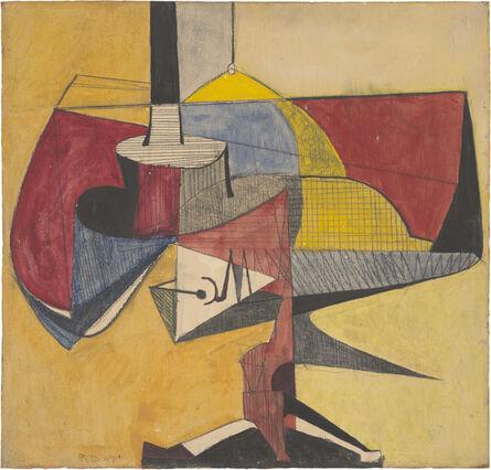 Richard Diebenkorn, 'Untitled (Magician's Table)', 1947