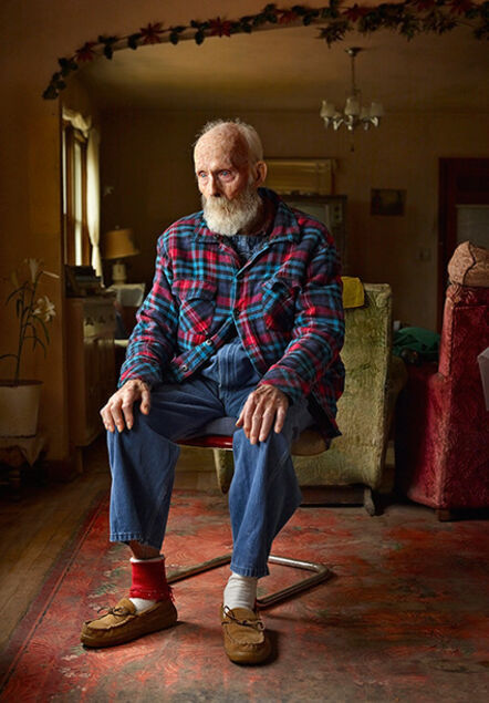 Andrew Moore, 'Uncle Teed, Lynn Lincoln Bauer, Sioux County, Neb', 2011