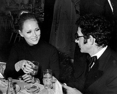 "Ron Galella, 'Faye Dunaway and Jerry Schatzberg, ""Coll Hand Luke"" Premiere Party, Americana Hotel, New York', 1967"