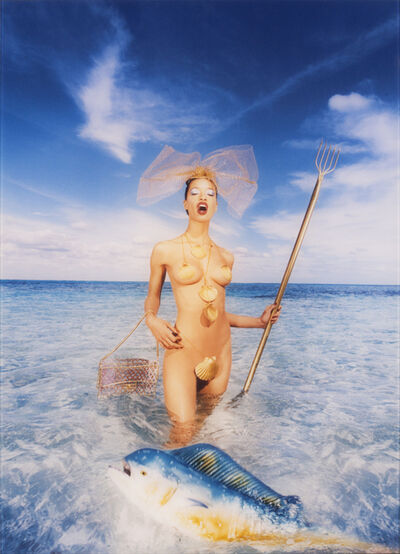 David LaChapelle, 'Clam on the Halfshell', 1977