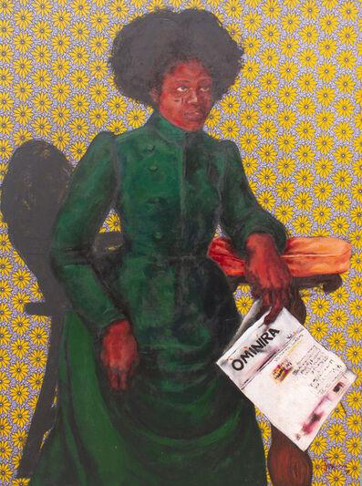 Uthman Wahaab, 'Àntí Àdùnní  (Victorian Lagos Series)', 2018