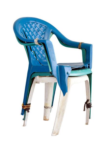 Filipe Branquinho, 'Untitled 12, Cadeira tricolor (Tricoloured chair)', 2020