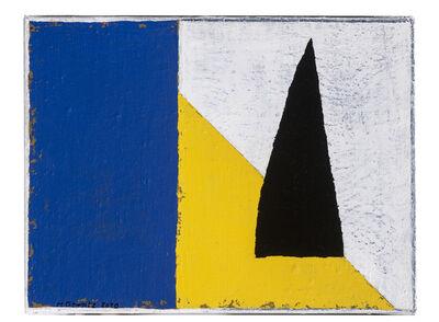 Harrie Gerritz, 'Toren op gele dijk', 2020