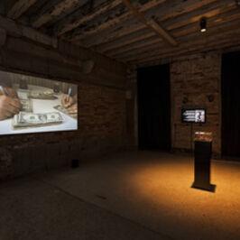 Ahmet Ögüt, 'EyeWriter/DIY/arbakir: Chapter One and Capter Two', 2012-2013