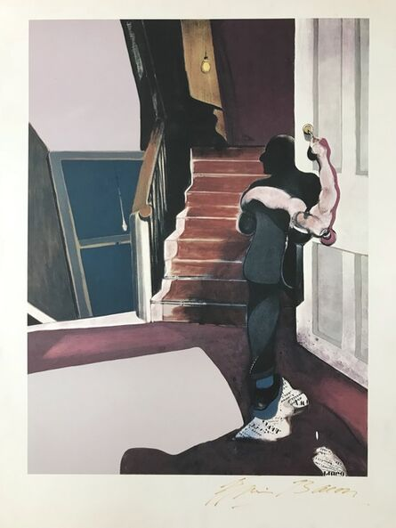 Francis Bacon, ' In memory of George Dyer', 1976