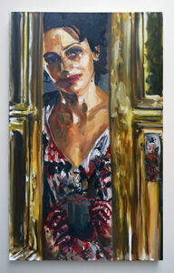 Dawn Mellor, 'Juliette Binoche ', 2010
