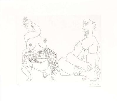 Pablo Picasso, '11.5.70 II (11 Mai 1970)', 1970