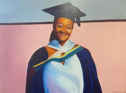 Mashudu Nevhutalu, 'Graduation at Home', 2020