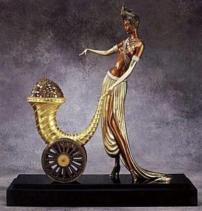 Erté (Romain de Tirtoff), 'Cornucopia, Achievement - Sculpture', 1991