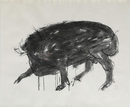 Leonard Baskin, 'Boar from Drawings from the Iliad', 1961
