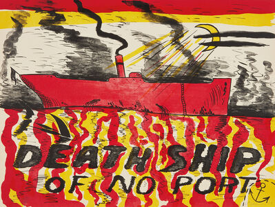 H.C. Westermann, 'Death Ship of No Port (Deathship of No Port, Red Deathship)', 1967