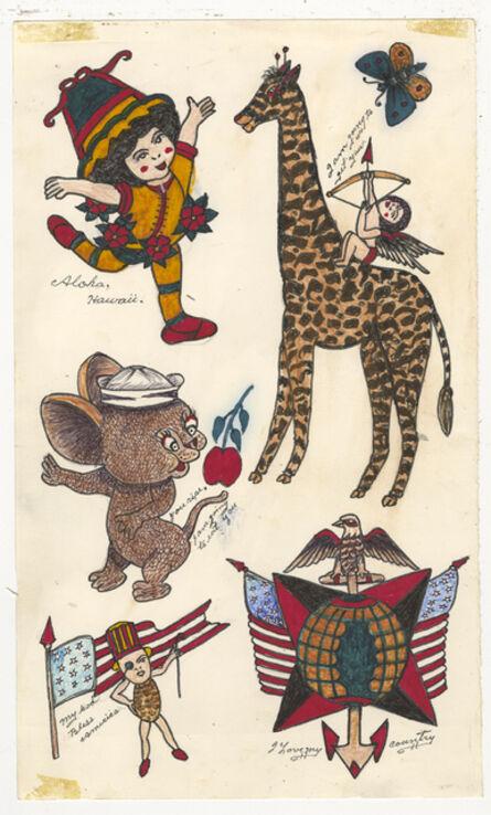 Rosie Camanga, 'Untitled (Giraffe I am Going to Get You)', 1950-1980