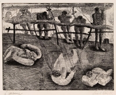 Svend Wiig Hansen, 'I Snorene (Bridled)', 1958