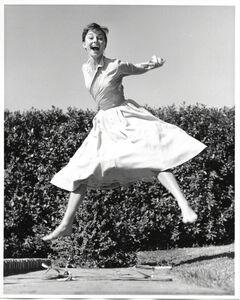 Philippe Halsman, 'Audrey Hepburn, jump serie', 1955