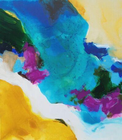 Amanda Gruenwald, 'Golden Ochre, Magenta, Blue', 2018