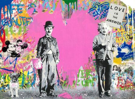 Mr. Brainwash, 'Juxtapose Pink', 2021