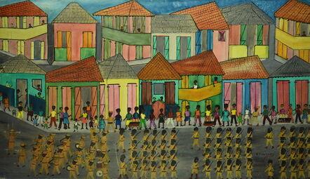 Etienne Chavannes, 'Parade militaire'