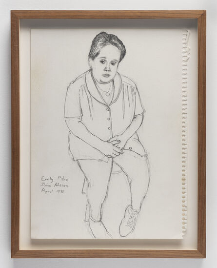 John Ahearn, 'Emily Pitre  ', 1988