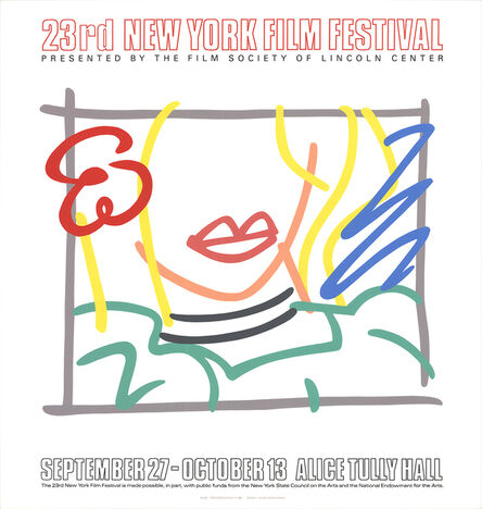 Tom Wesselmann, 'Monica, 23rd New York Film Festival', 1985