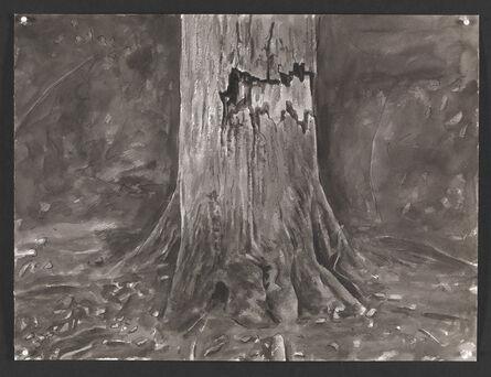 George Shaw (b. 1966), 'Wounded Tree II ', 2015