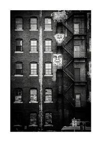 Jon Furlong, 'Icon Fire Escape', 2015