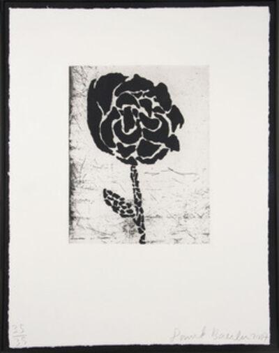 Donald Baechler, 'Flower I', 2007
