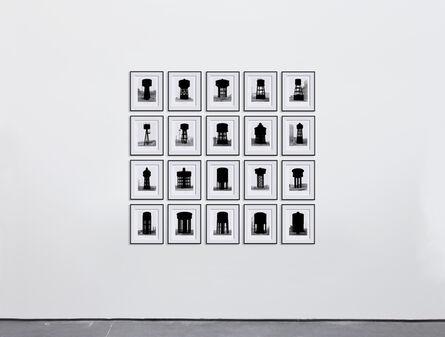 Marlon de Azambuja, 'Becher Serie (Water Towers)', 2015