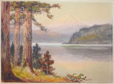Yoshida Hiroshi, 'Reflection of Mt. Fuji', ca. 1920