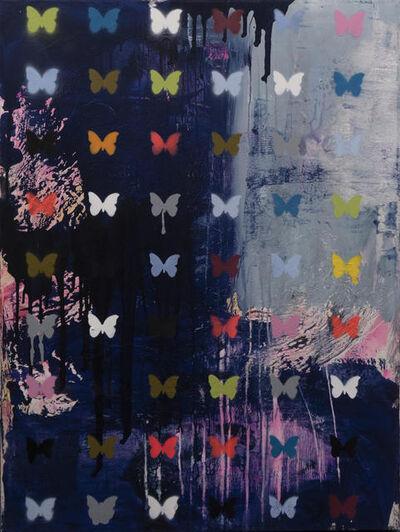 Daniel Maltzman, 'Butterfly with Graffiti Stencil', 2019
