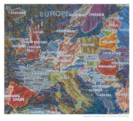 Paula Scher, 'Europe', 2009