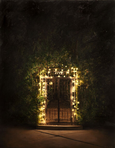 Dan Witz, 'Garden Gate L.A.', 2010