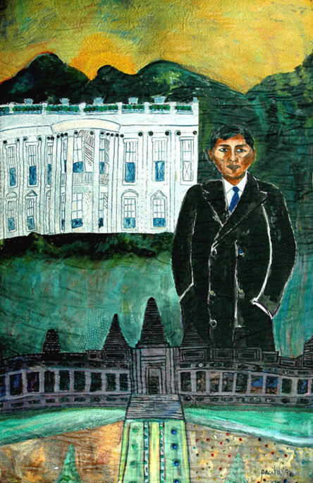 Pacita Abad, 'Sichan between two worlds: From Angkor Wat to the White House', 1994