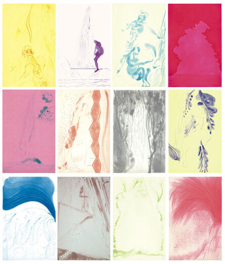 Chris Ofili, 'Rainbow (Set)', 2008