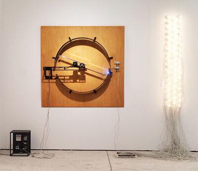 Satoru Tamura, 'Point of Contact for 50 Incandescent Lamps #7', 2015