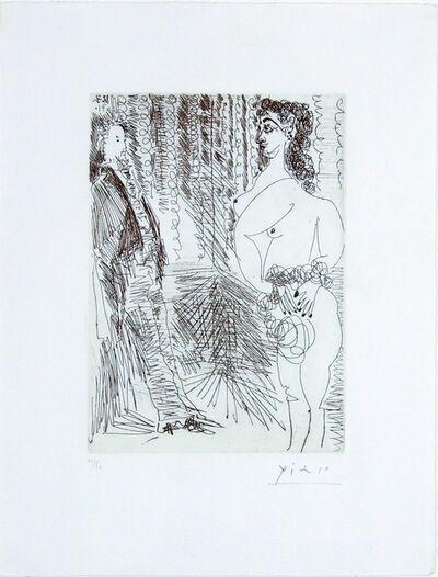 Pablo Picasso, 'Le Cabinet Particulier, Degas et une Fille', 1971