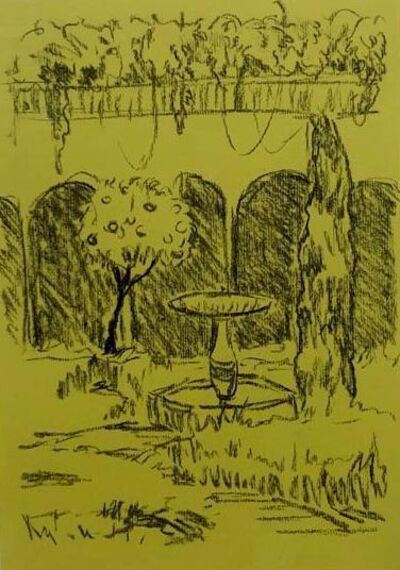 Cara Nahaul, 'Study of Water Fountain', 2020