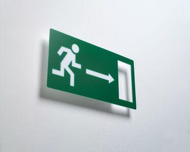 Ceal Floyer, 'Exit', 2006