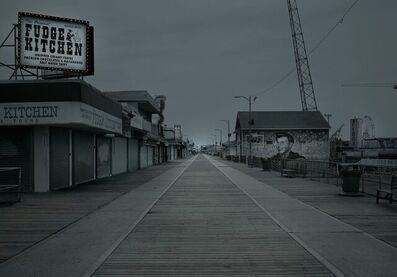 Michael Massaia, 'Abandoned Boardwalk-Wildwood,NJ', 2020
