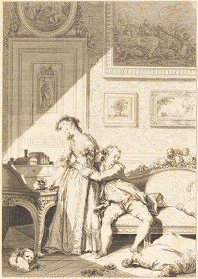 Jacques Aliamet and Antoine-Jean Duclos after Jean-Honoré Fragonard, 'A femme avare galant escroc'