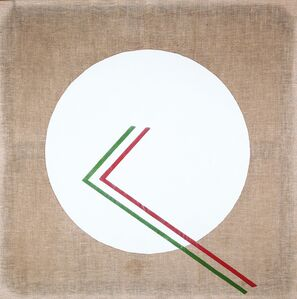 Angelo Verga, 'La meridiana cosmica ah ah?', 1976