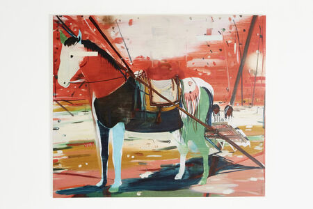 Jules de Balincourt, 'Dismounted', 2011